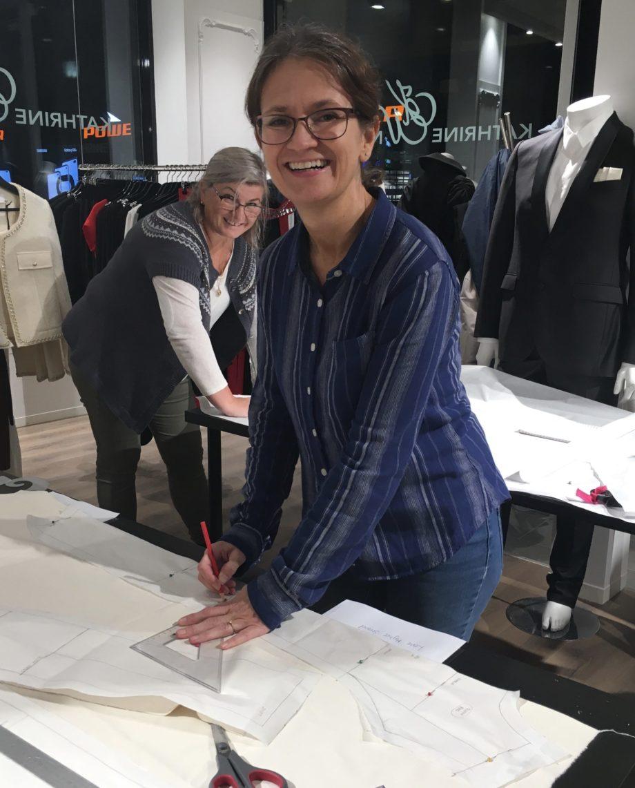 Kathrine Nørgård Ermer 05 scaled - Lær å lage ermemønster etter egne mål