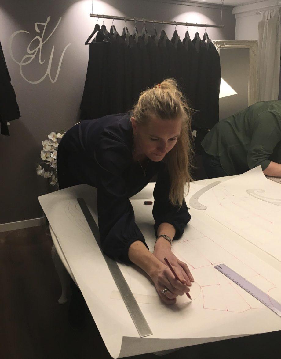 Kathrine Nørgård Kjolemønster 63 scaled - Lær å lage kjolemønster
