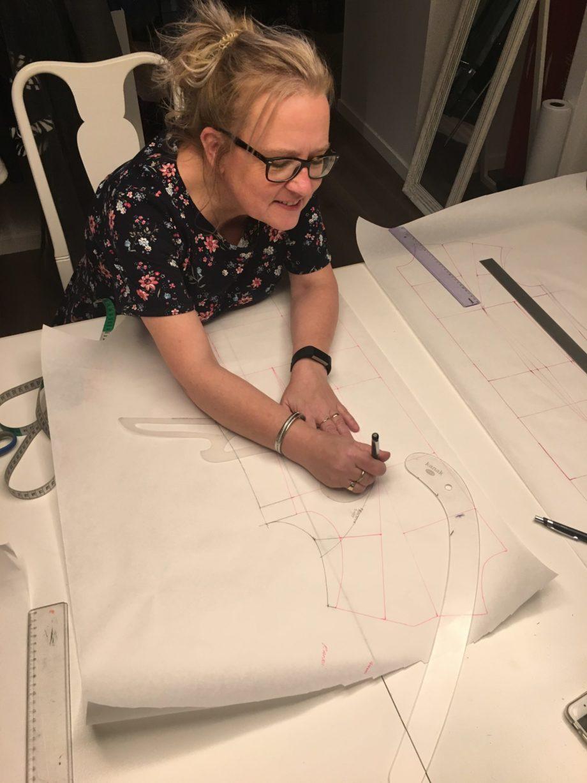 Kathrine Nørgård Kjolemønster 64 scaled - Lær å lage kjolemønster