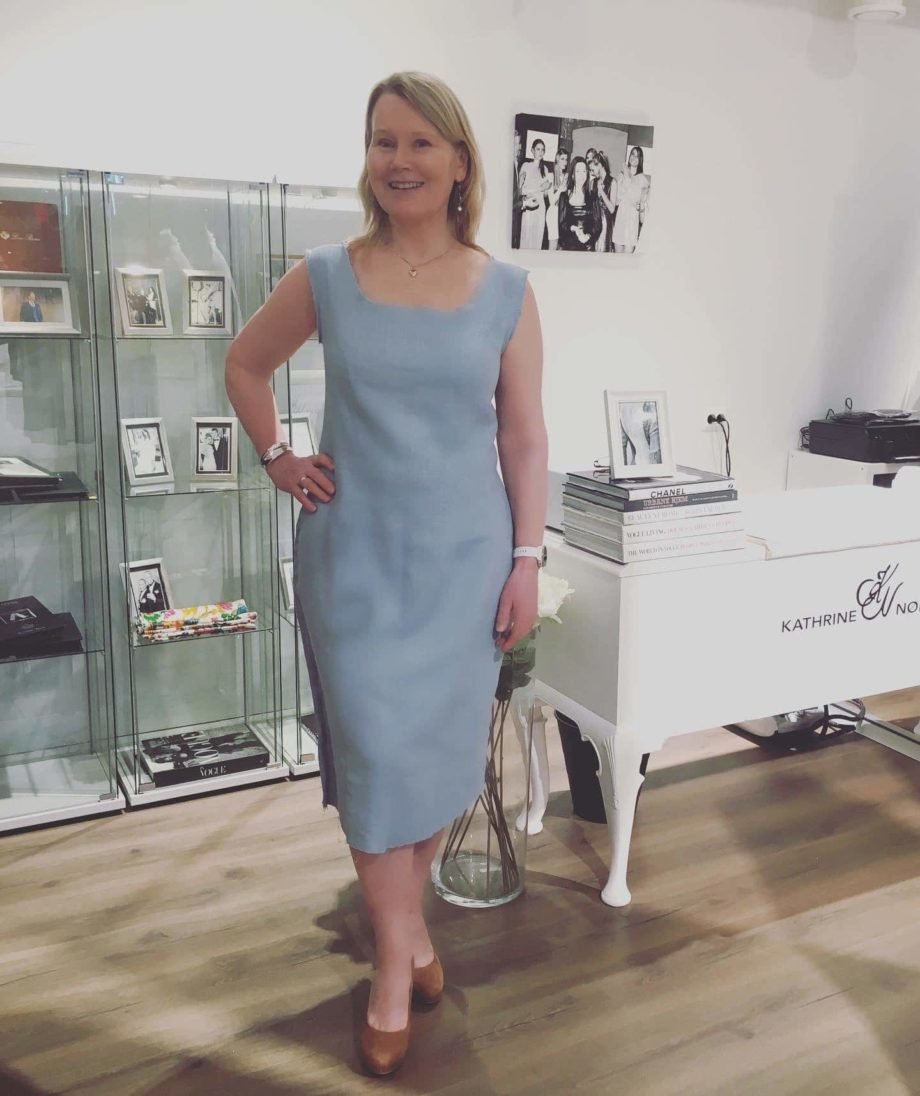 Kathrine Nørgård Kjolemønster 71 - Lær å lage kjolemønster