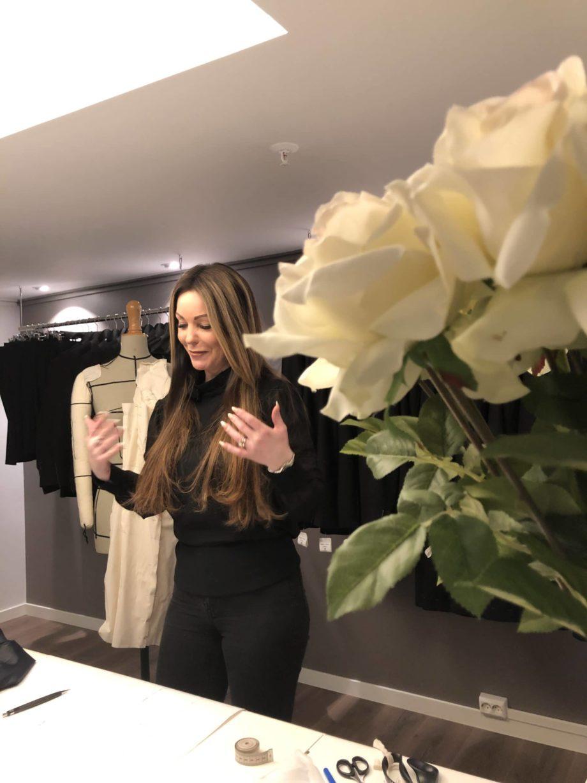 Kathrine Nørgård Skjørt og topp 25 scaled - Lær å lage skjørt og skjortebluse