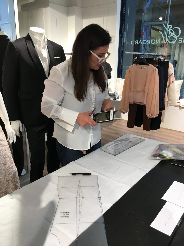 Kathrine Nørgård Skjørt og topp 28 scaled - Lær å lage skjørt og skjortebluse