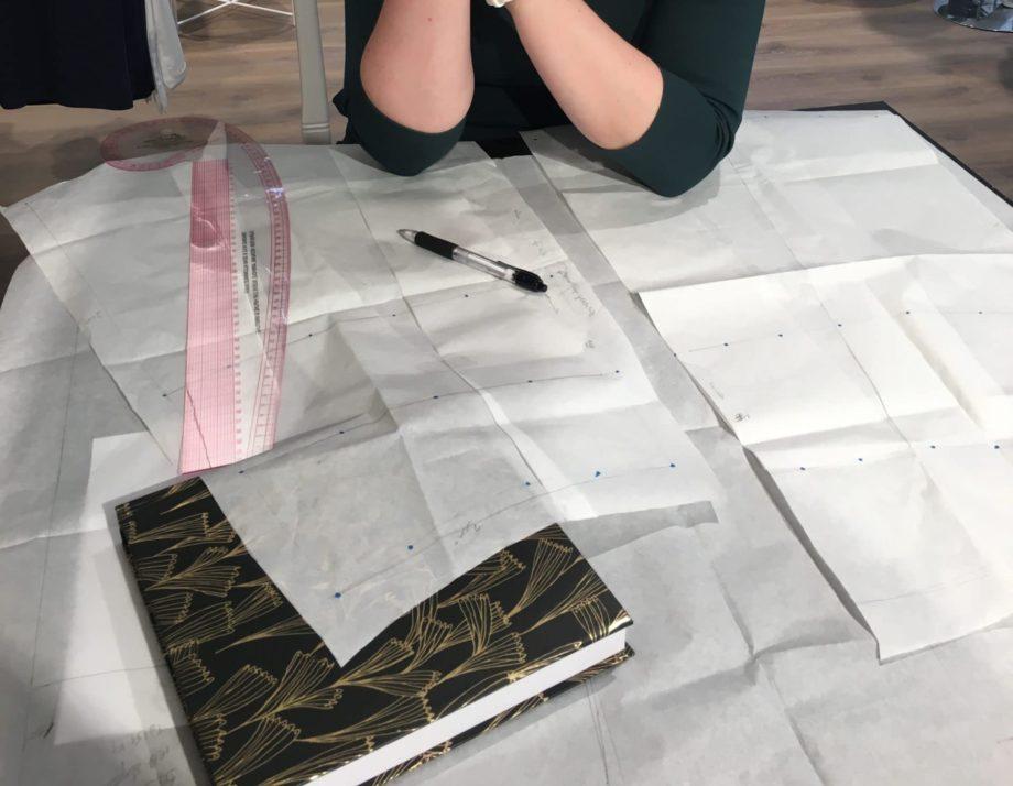 Kathrine Nørgård Skjørt og topp 35 scaled e1589279587195 - Lær å lage skjørt og skjortebluse