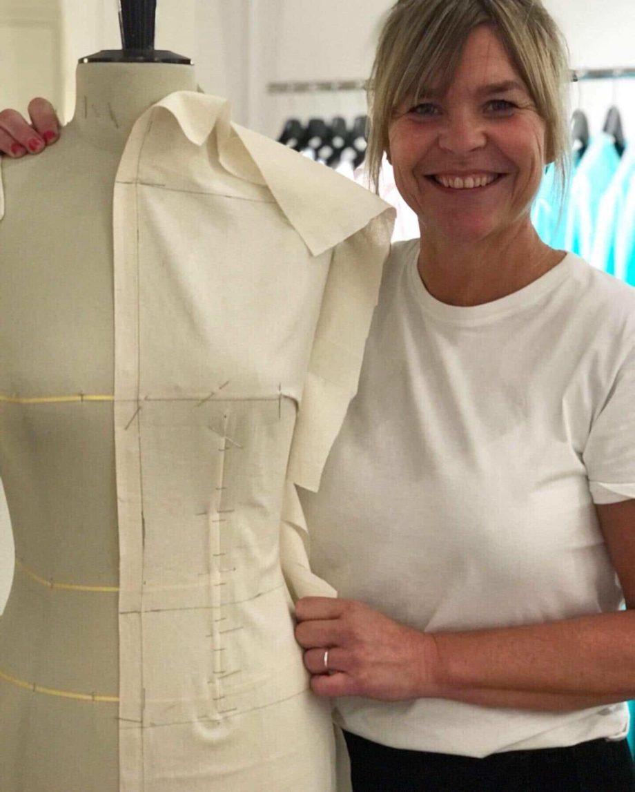 Kathrine Nørgård Skjørt og topp 39 - Lær å lage skjørt og skjortebluse
