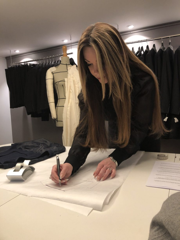 Kathrine Nørgård Skjørt og topp 46 scaled - Lær å lage skjørt og skjortebluse