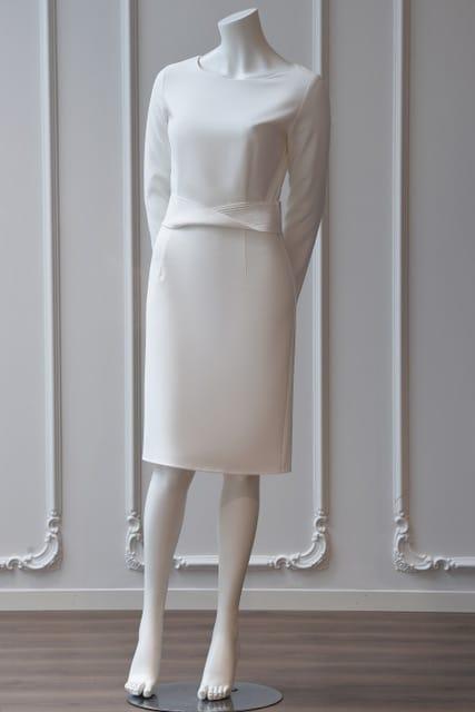 Emelie kjole hvit 21 - Emelie kjole