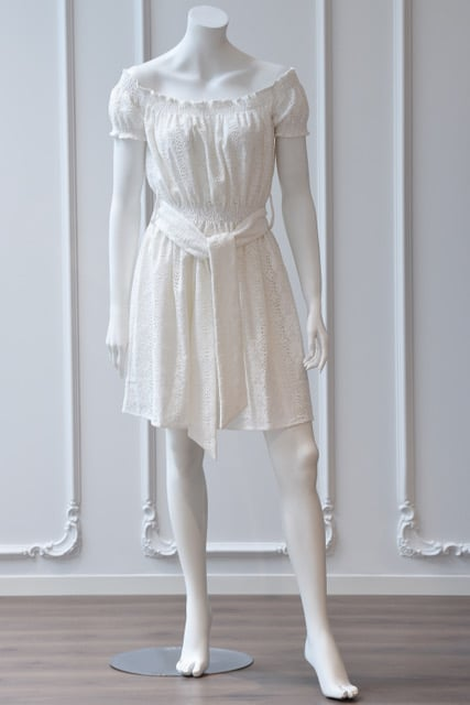 Gianna kjole med blonder 31 - Gianna kjole
