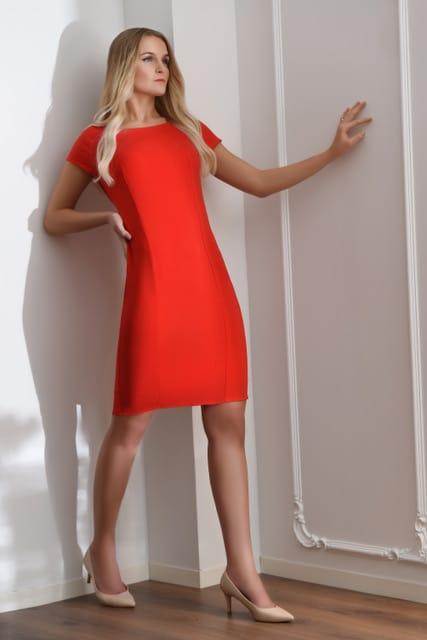 Hazel kjole rod modellbilde 26 - Hazel kjole