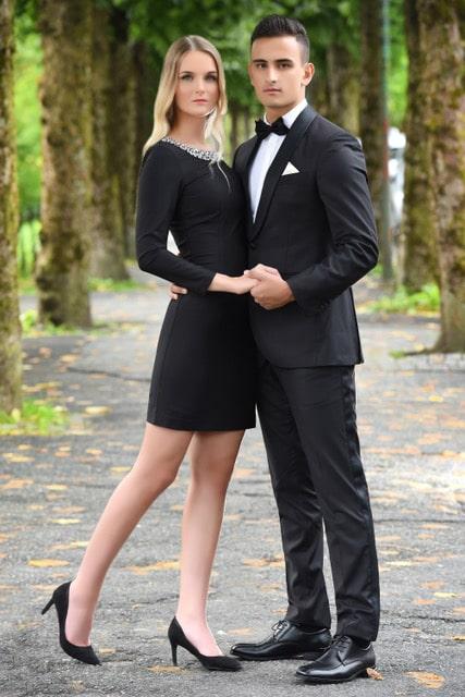 Kendall kjole modellbilde 2 6 - Kendall kjole