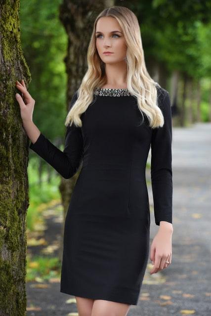 Kendall kjole modellbilde 8 - Kendall kjole