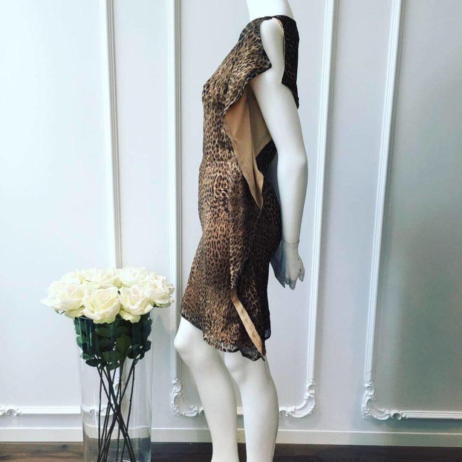 Michelle kjole leopard 3 6 - Michelle kjole
