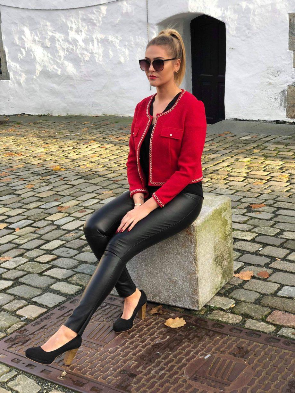 Sophia jakke rod 2 scaled - Sophia jakke
